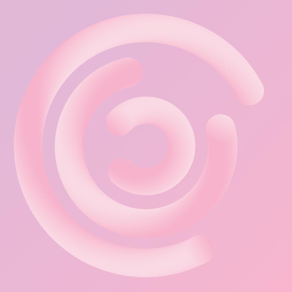 astratto moderno sfumato rosa e corallo vivente si fondono sullo sfondo della linea di copertura. illustrazione vettoriale eps10