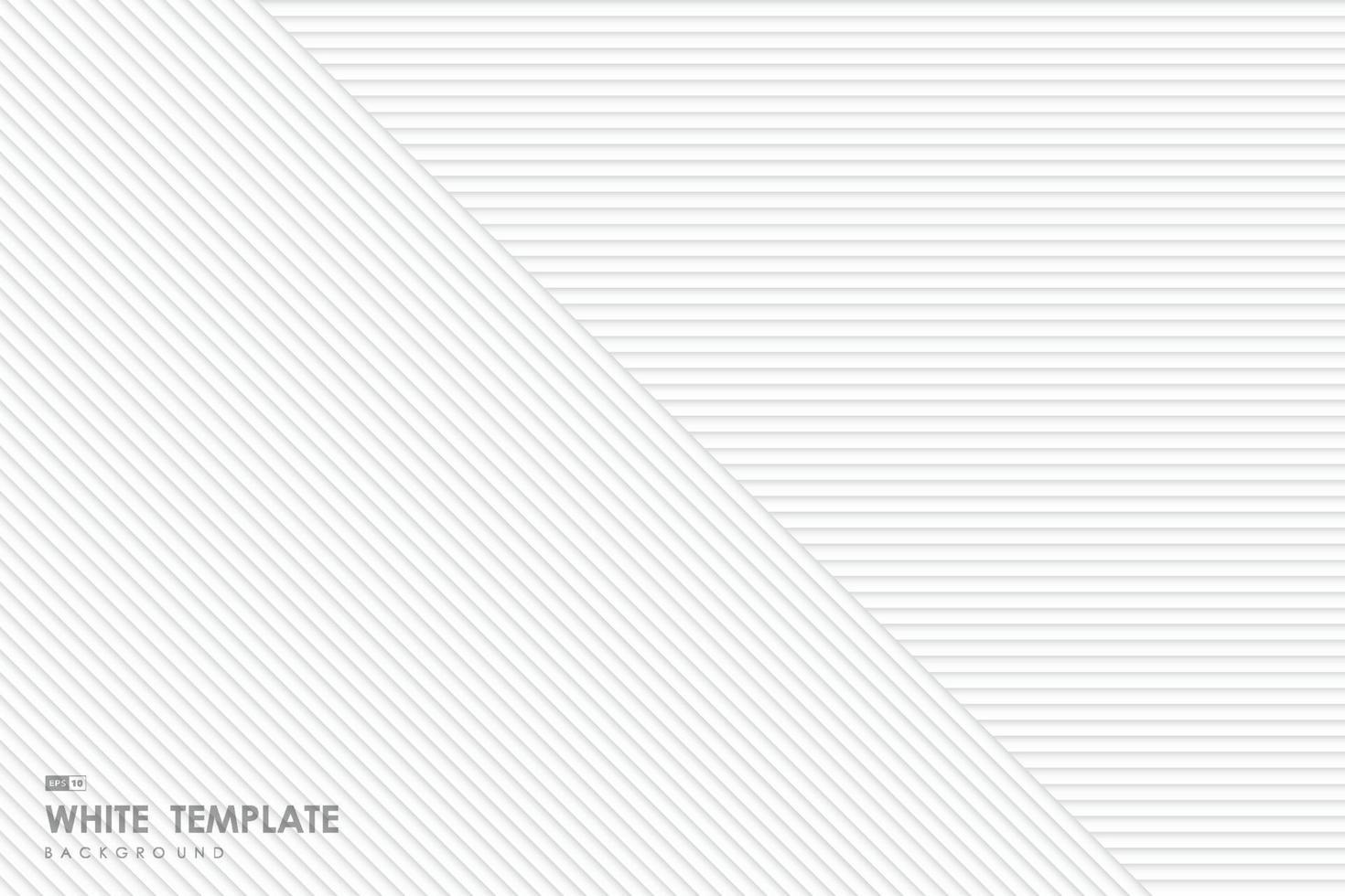 fondo di progettazione del modello del modello del modello della linea bianca di pendenza astratta. illustrazione vettoriale eps10