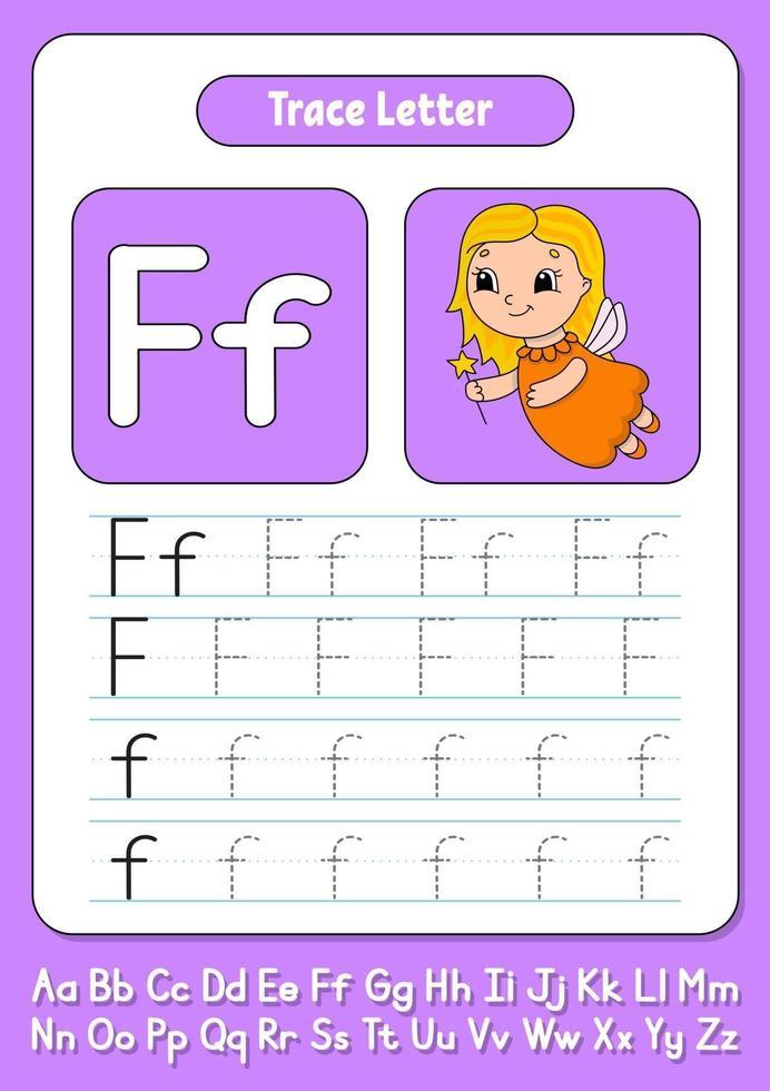 scrivere lettere f vettore