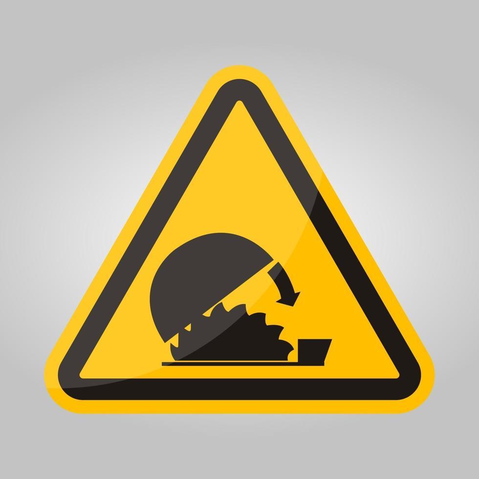 simbolo uso protezione regolabile isolare su sfondo bianco, illustrazione vettoriale eps.10