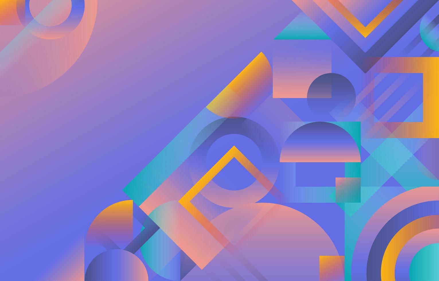 sfondo sfumato geometrico astratto vettore