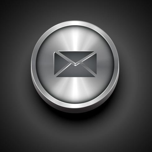 icona della posta elettronica vettore