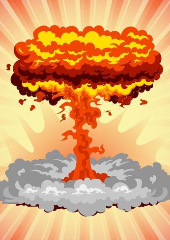 Grande esplosione vettore