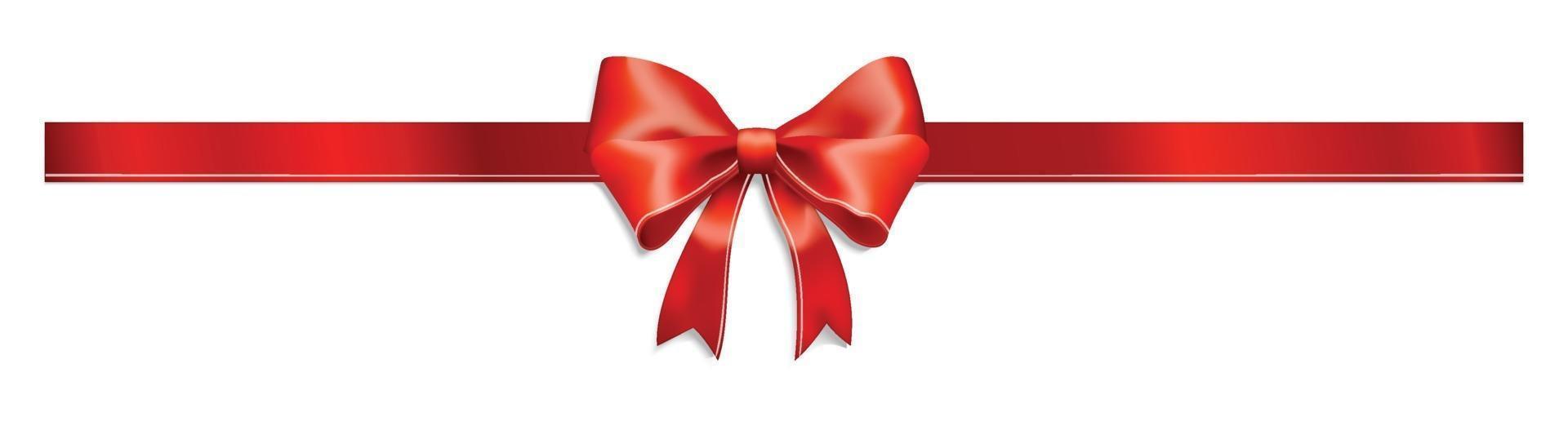nastro regalo confezione vettoriale