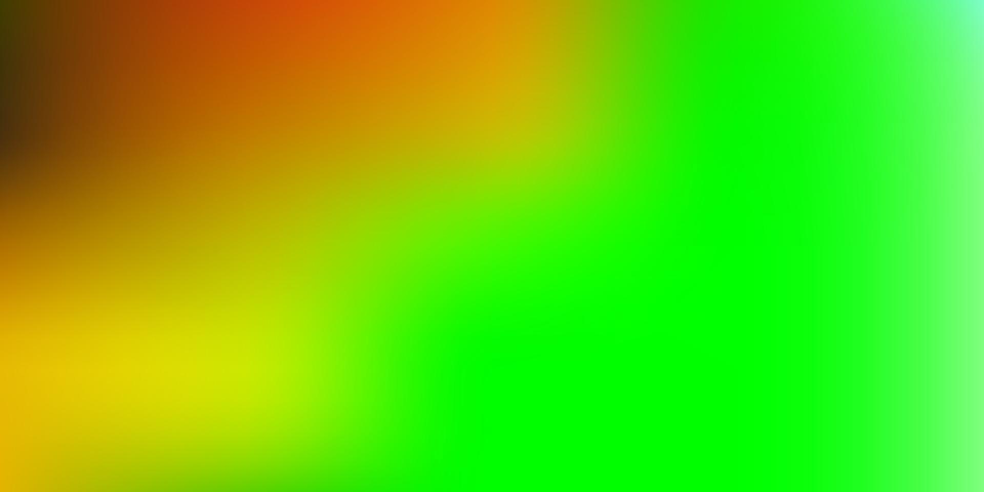 sfondo sfocato sfumato vettoriale multicolore scuro.