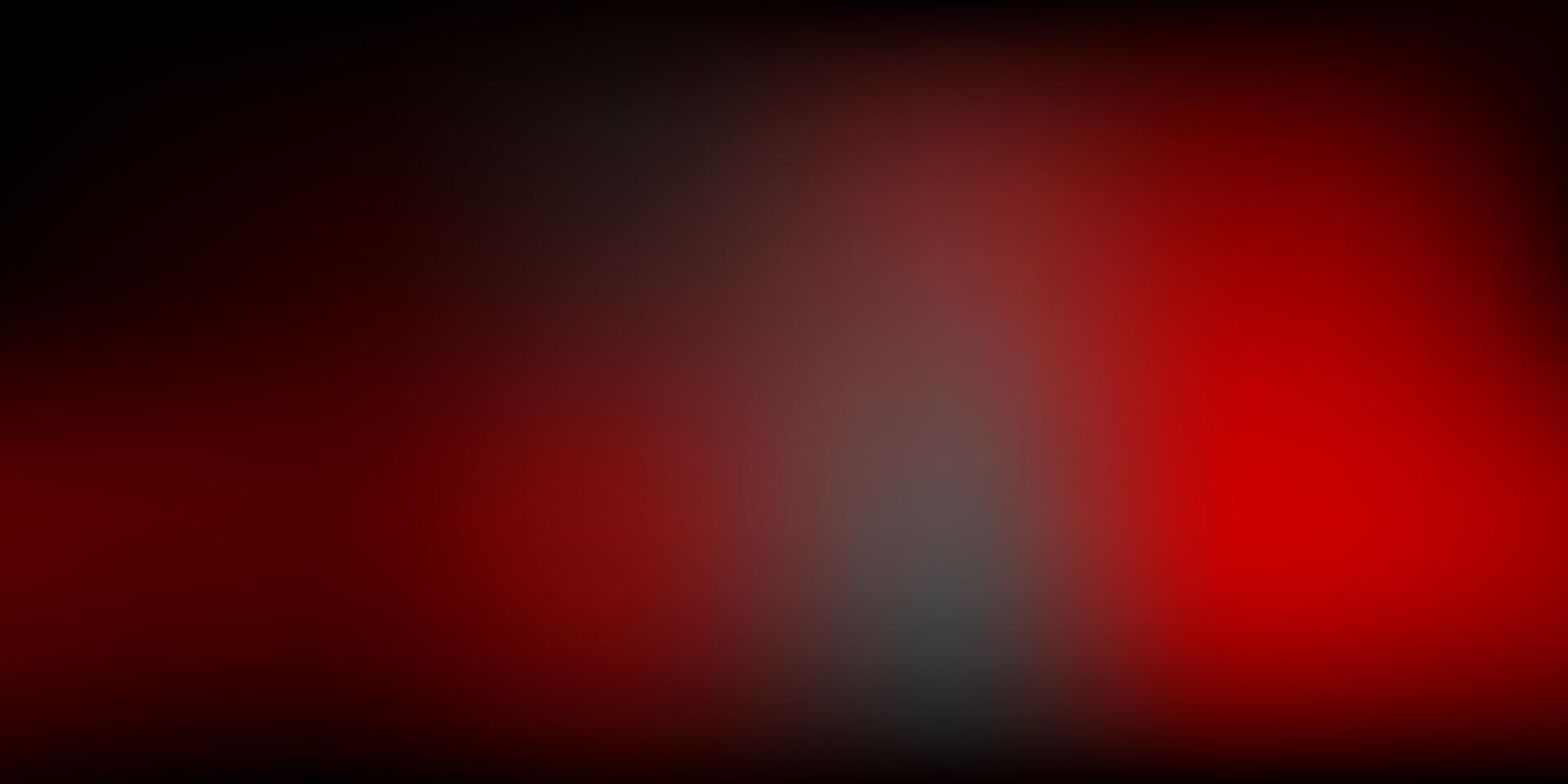 modello di sfocatura vettoriale rosso scuro.
