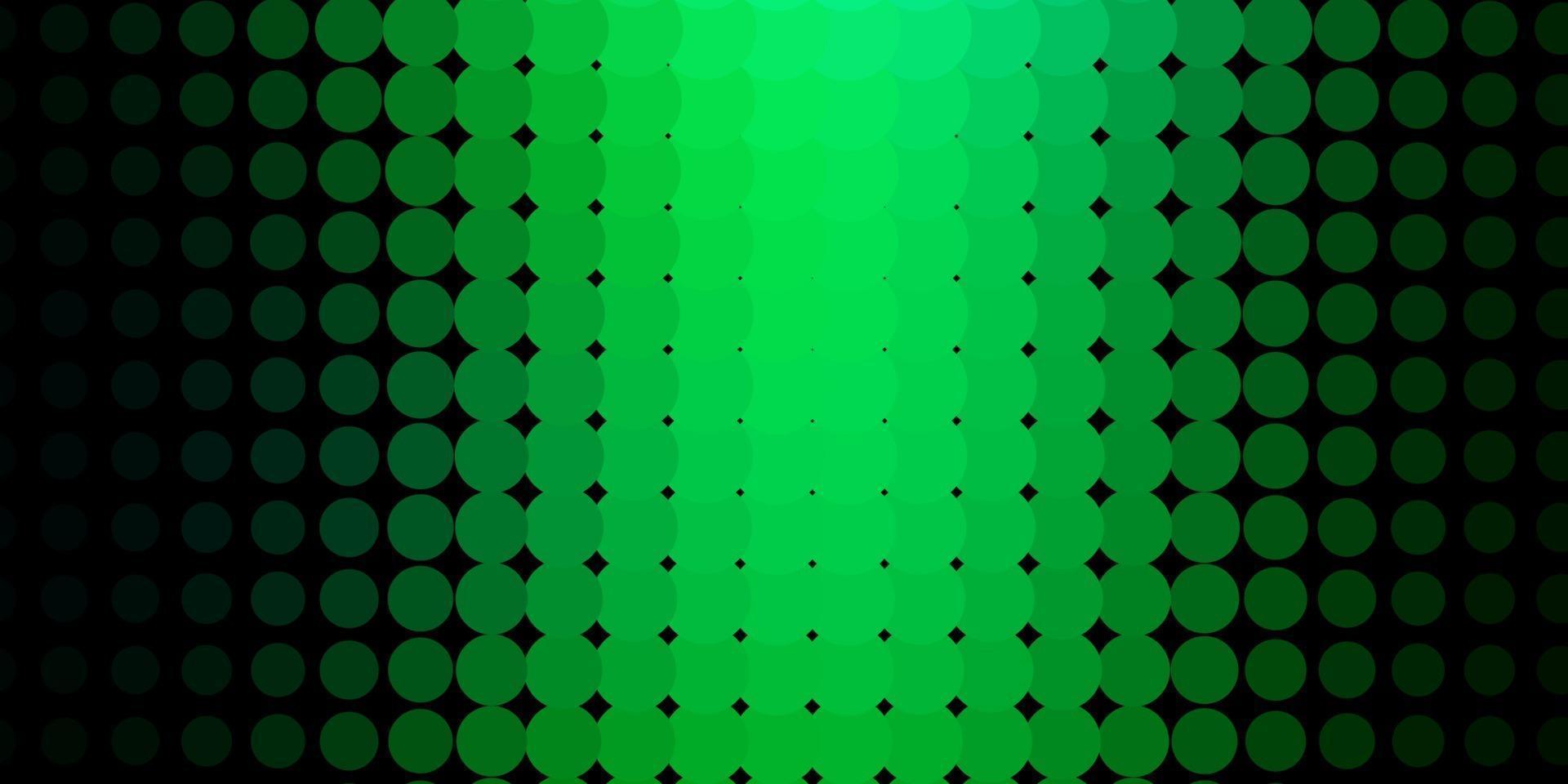 sfondo vettoriale azzurro, verde con cerchi.