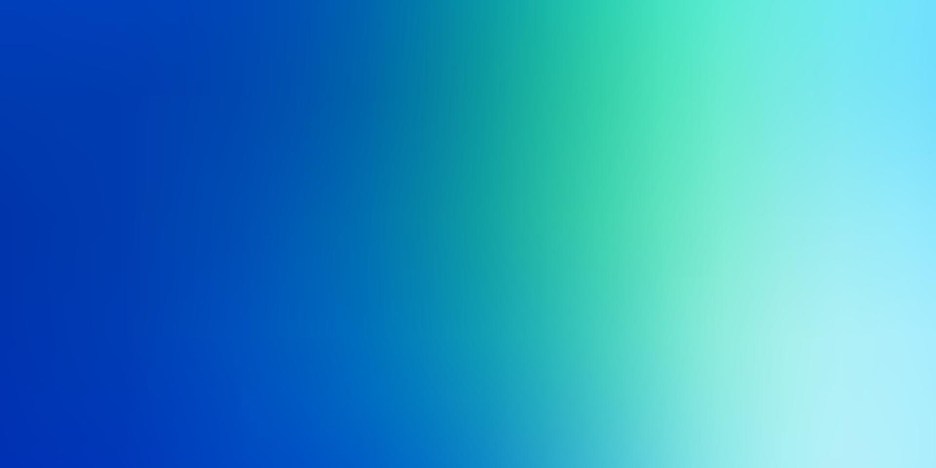sfondo sfocato moderno di vettore blu chiaro, verde.