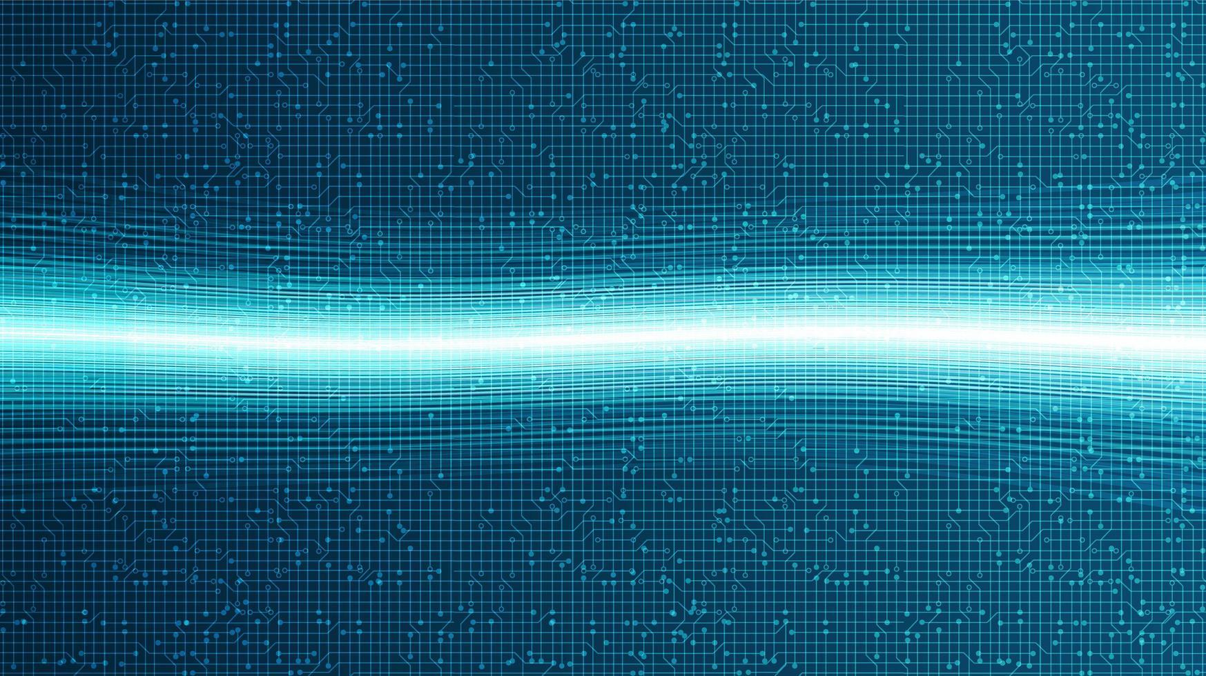 sfondo di tecnologia laser, design concept digitale e internet hi-tech, spazio libero per il testo inserito, illustrazione vettoriale