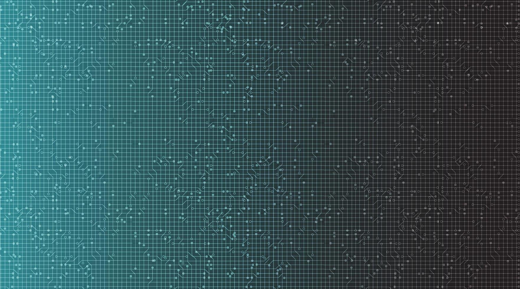 moderna tecnologia sfondo nero e blu, design digitale hi-tech e concept di comunicazione, spazio libero per il testo in put, illustrazione vettoriale. vettore
