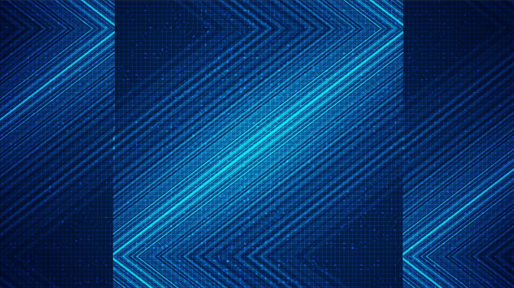 linea di tecnologia laser blu a bordo sfondo, design digitale e concetto di connessione, illustrazione vettoriale. vettore