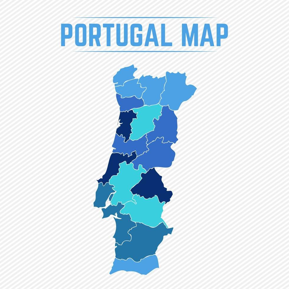 Cartina Dettagliata Del Portogallo.Mappa Dettagliata Del Portogallo Con Gli Stati 2292860 Scarica Immagini Vettoriali Gratis Grafica Vettoriale E Disegno Modelli
