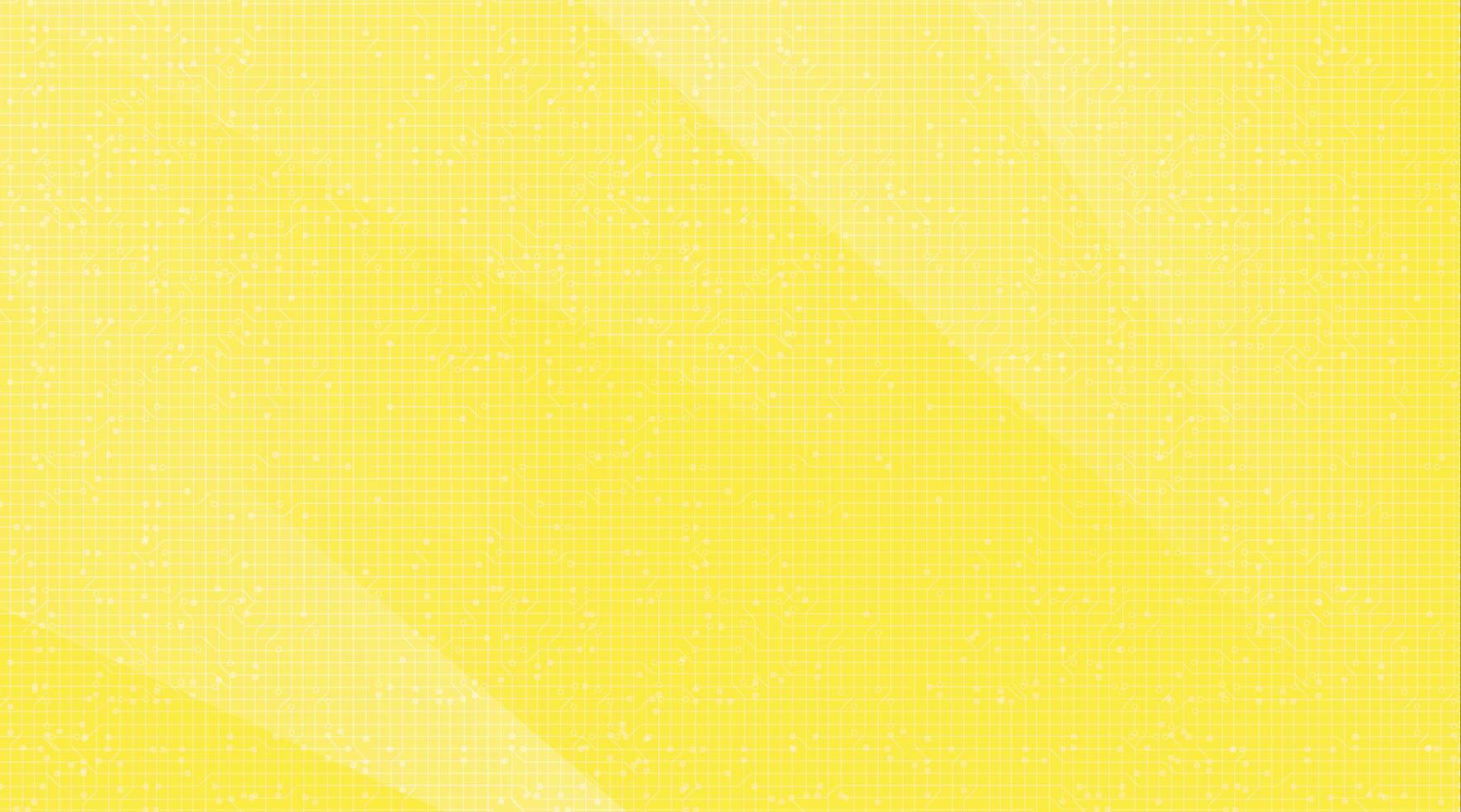 classico sfondo giallo tecnologia, hi tech e hardware concept design, spazio libero per il testo in put, illustrazione vettoriale. vettore