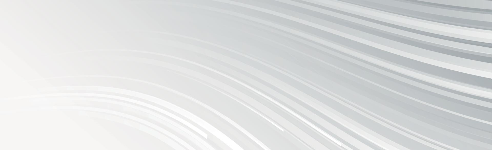 astratto grigio - linee bianche su sfondo grigio - vettore