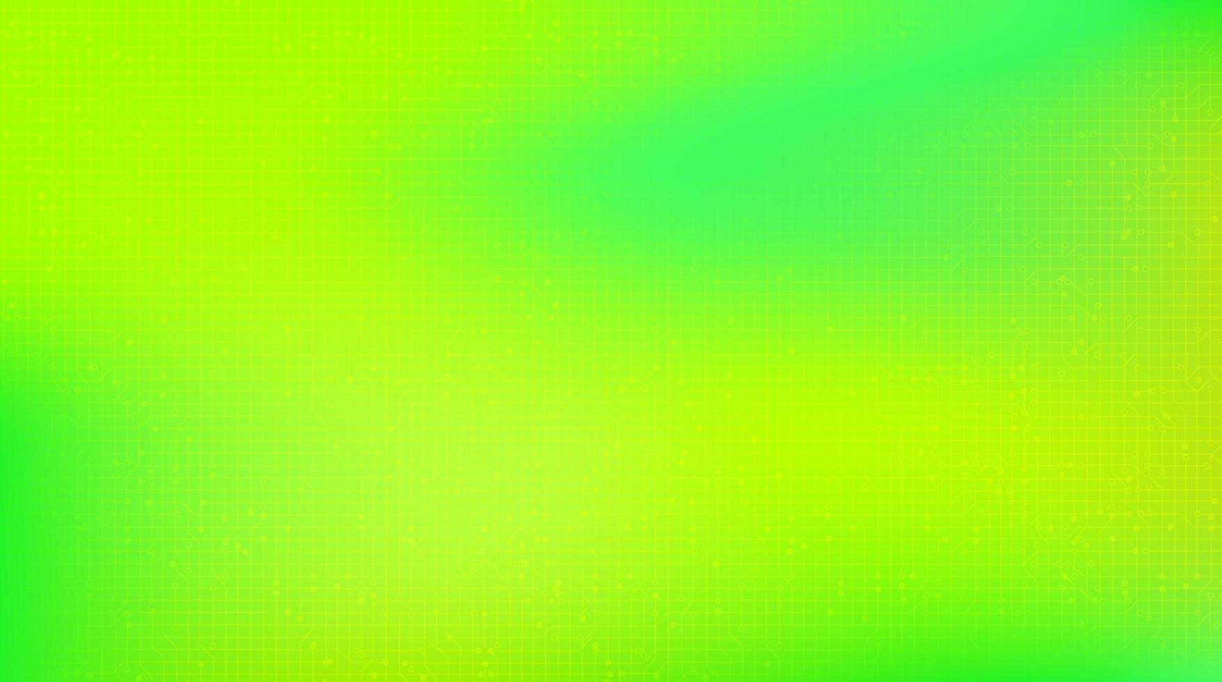sfondo tecnologia verde chiaro vettore