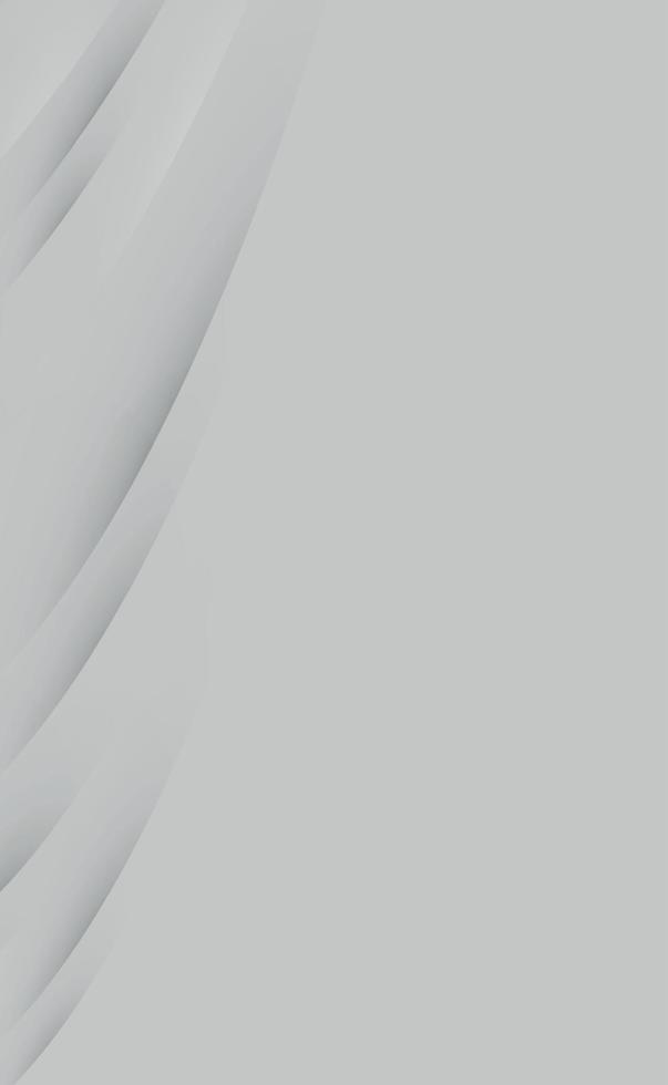 astratto sfondo grigio con linee ondulate - vettore