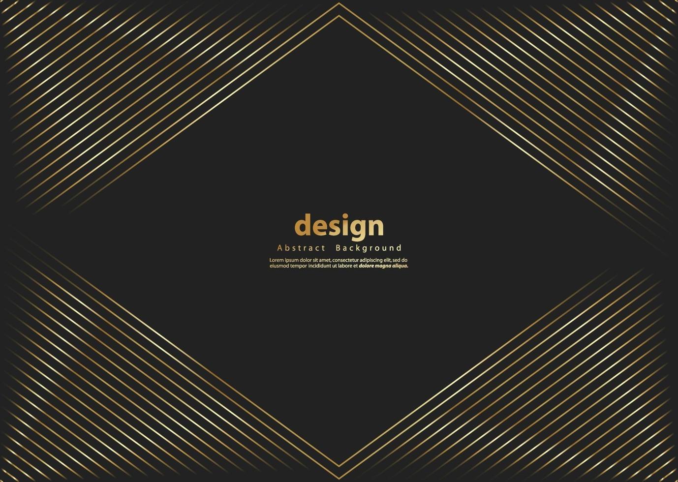 colore di lusso oro motivo a strisce. sfondo di strisce glitter oro. trama astratta linea d'oro. modello illustrazione vettoriale. vettore