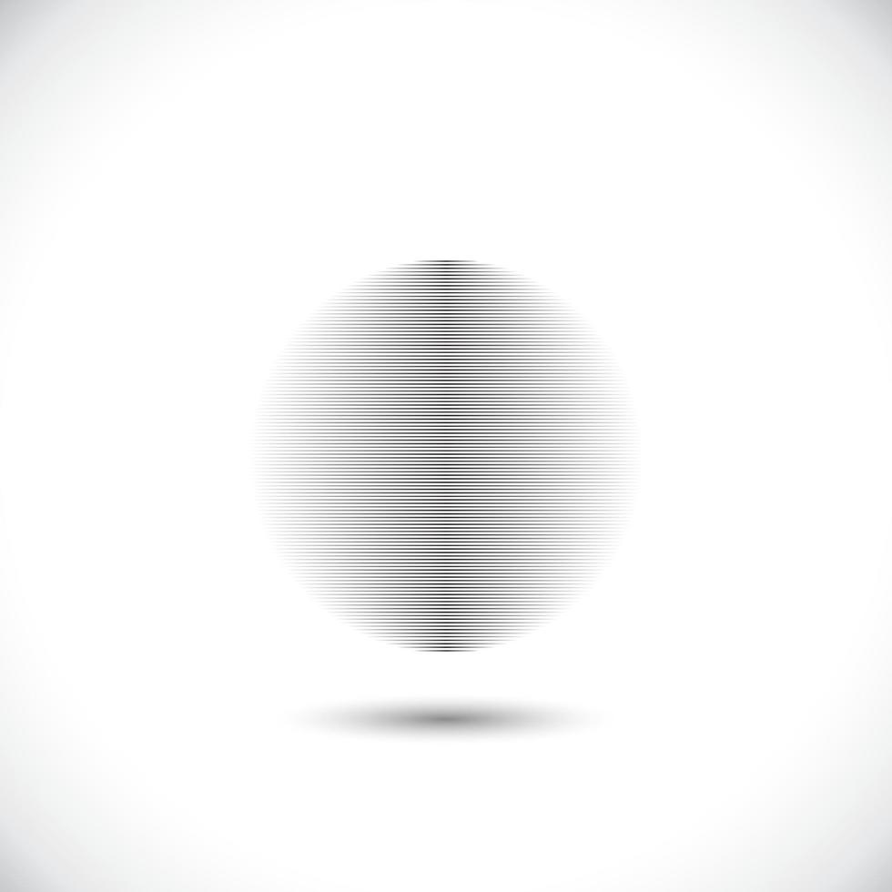 elementi di cerchio concentrico. elemento per il web design grafico, modello per la stampa, tessile, confezionamento, decorazione - illustrazione vettoriale