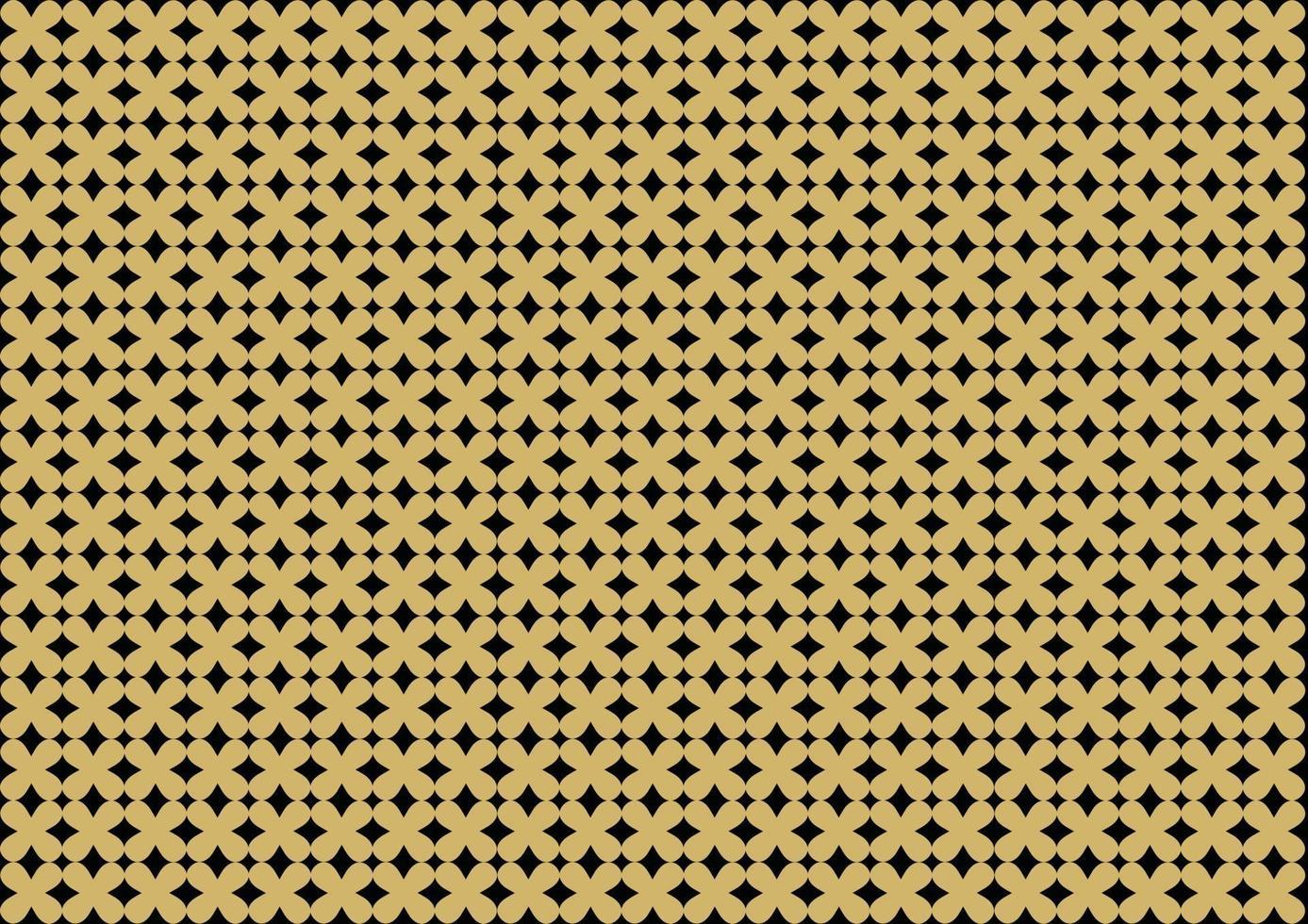 trama dorata. motivo geometrico senza soluzione di continuità. astratto sfondo dorato. vettore di hipster modello retrò