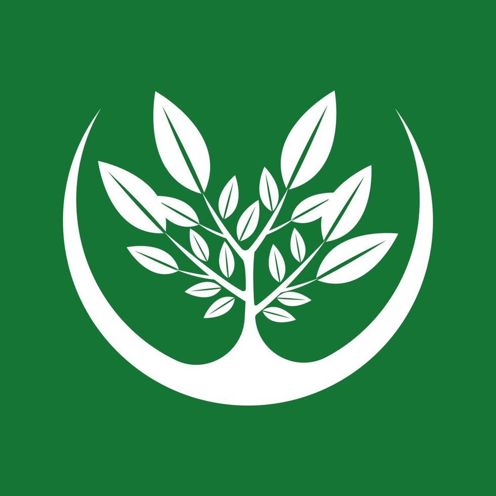 icona semplice albero vettore