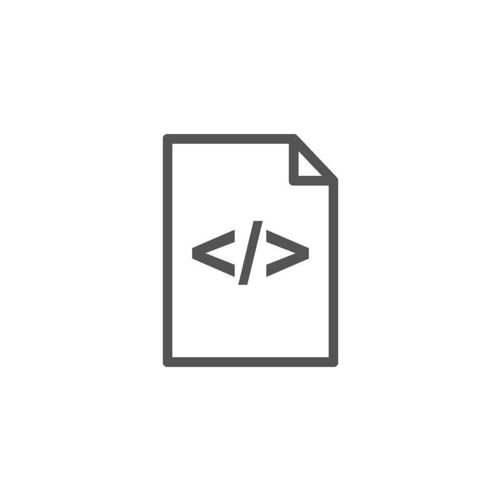icona isolata di carattere di parentesi graffe sulla pagina vettore