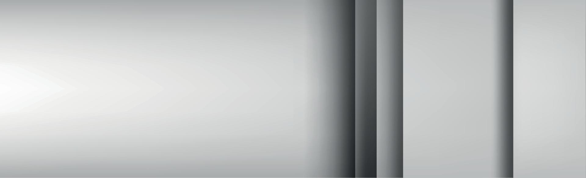 sfondo bianco e grigio con più strati - vettore