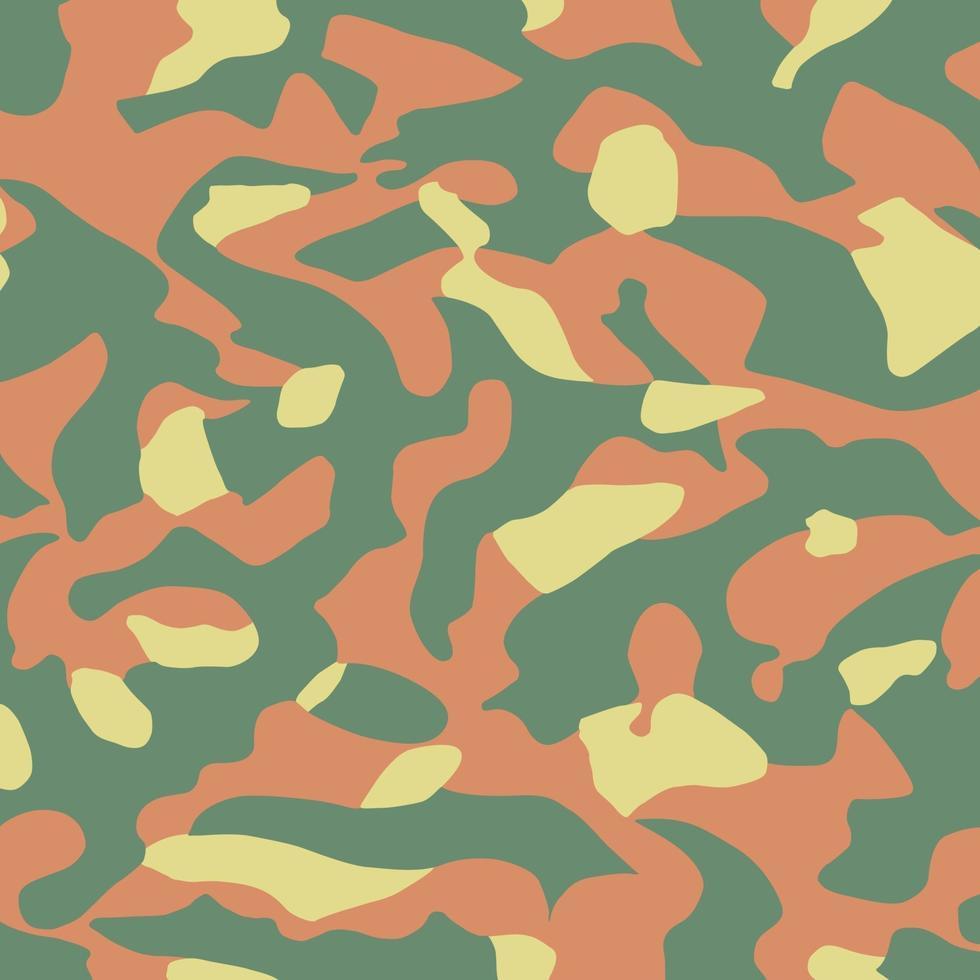 trama mimetica militare sfondo stampa cachi - vettore