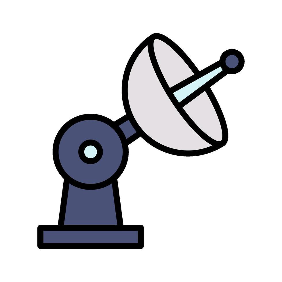 icona del vettore satellitare