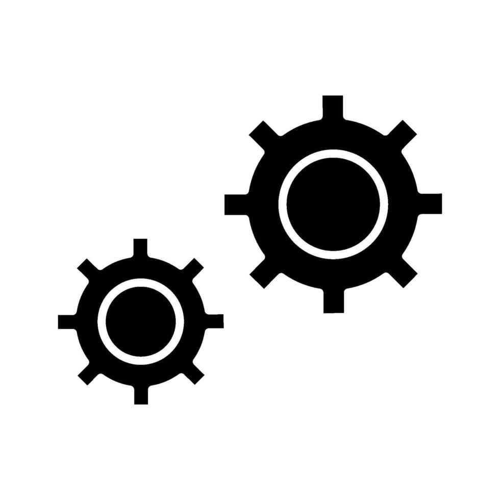 icona di vettore di configurazione