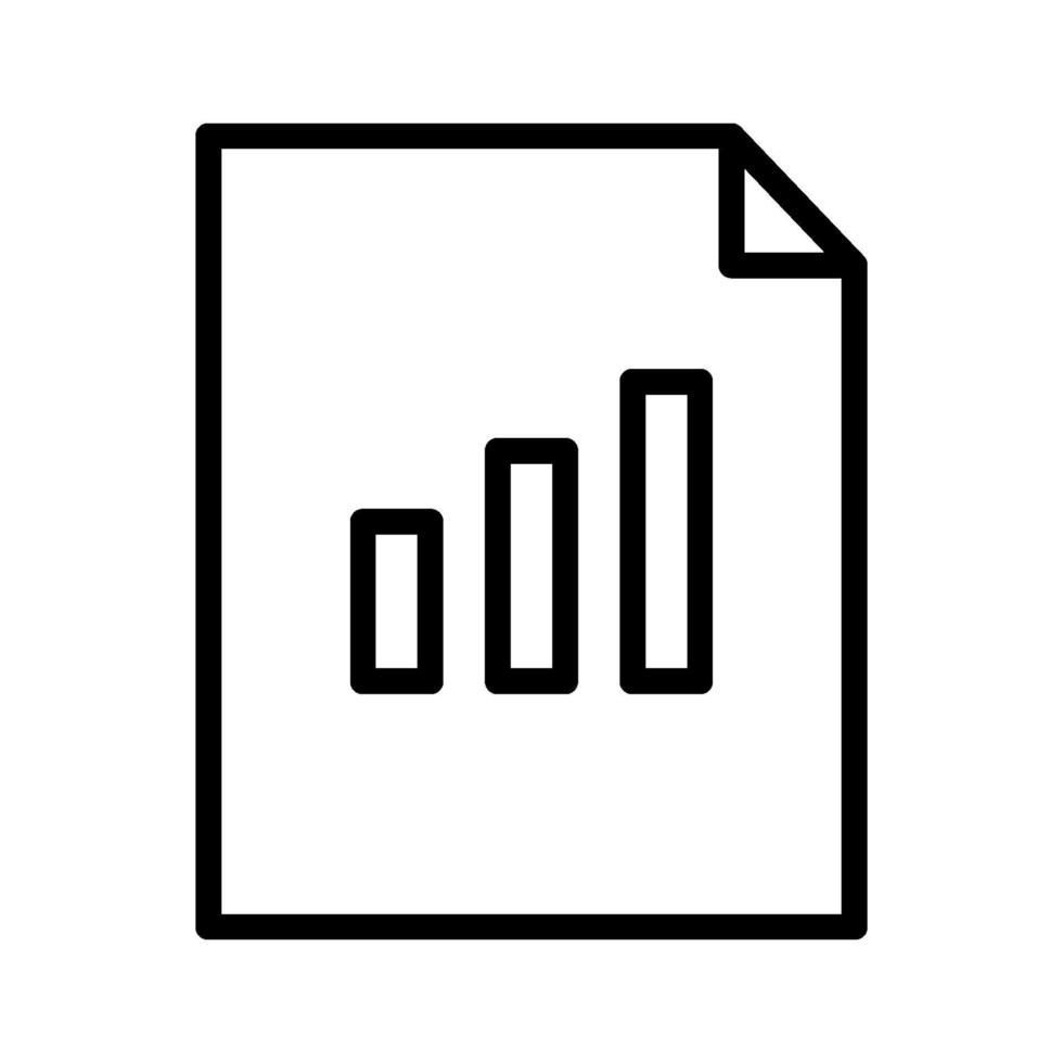 icona di vettore del documento