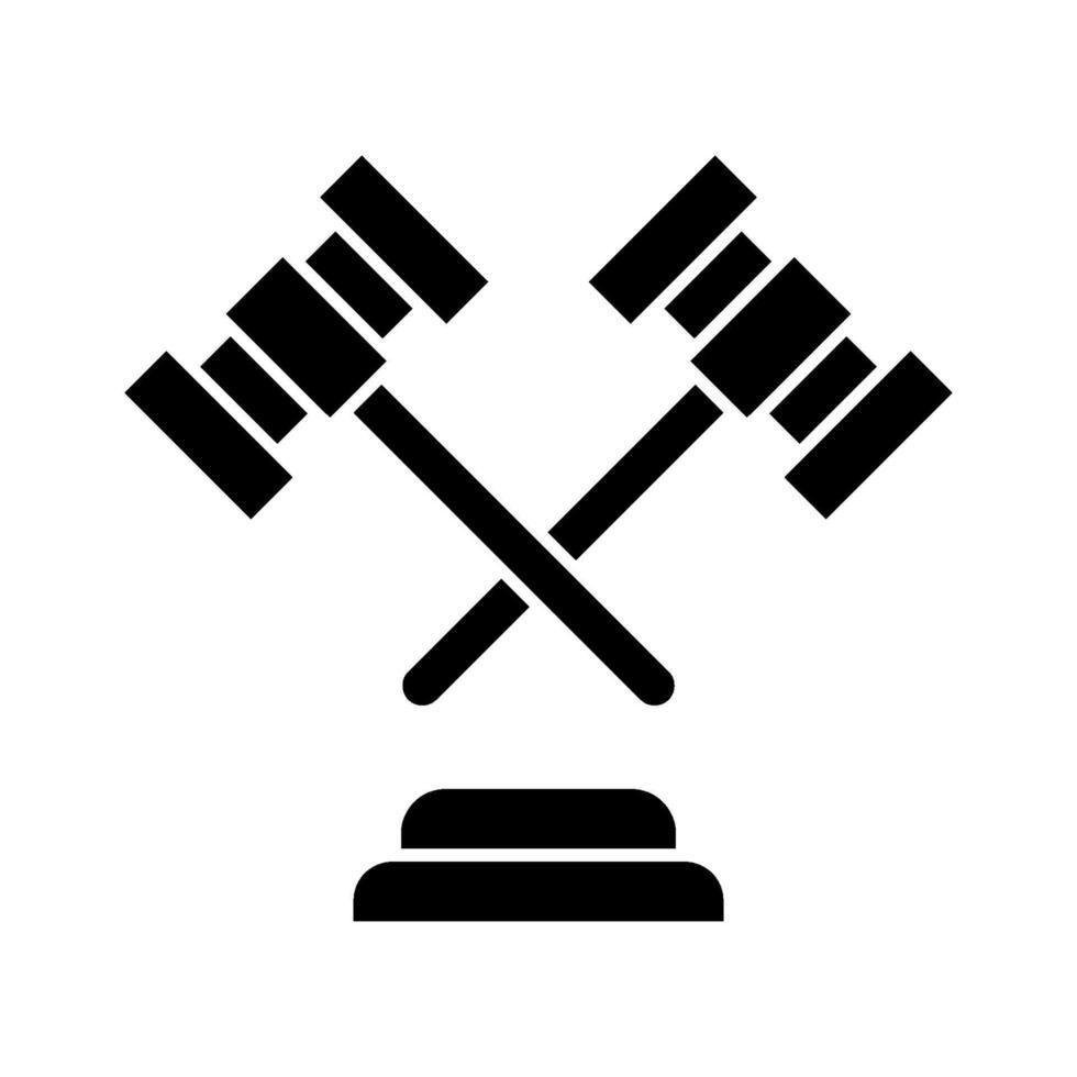 icona di vettore di legge