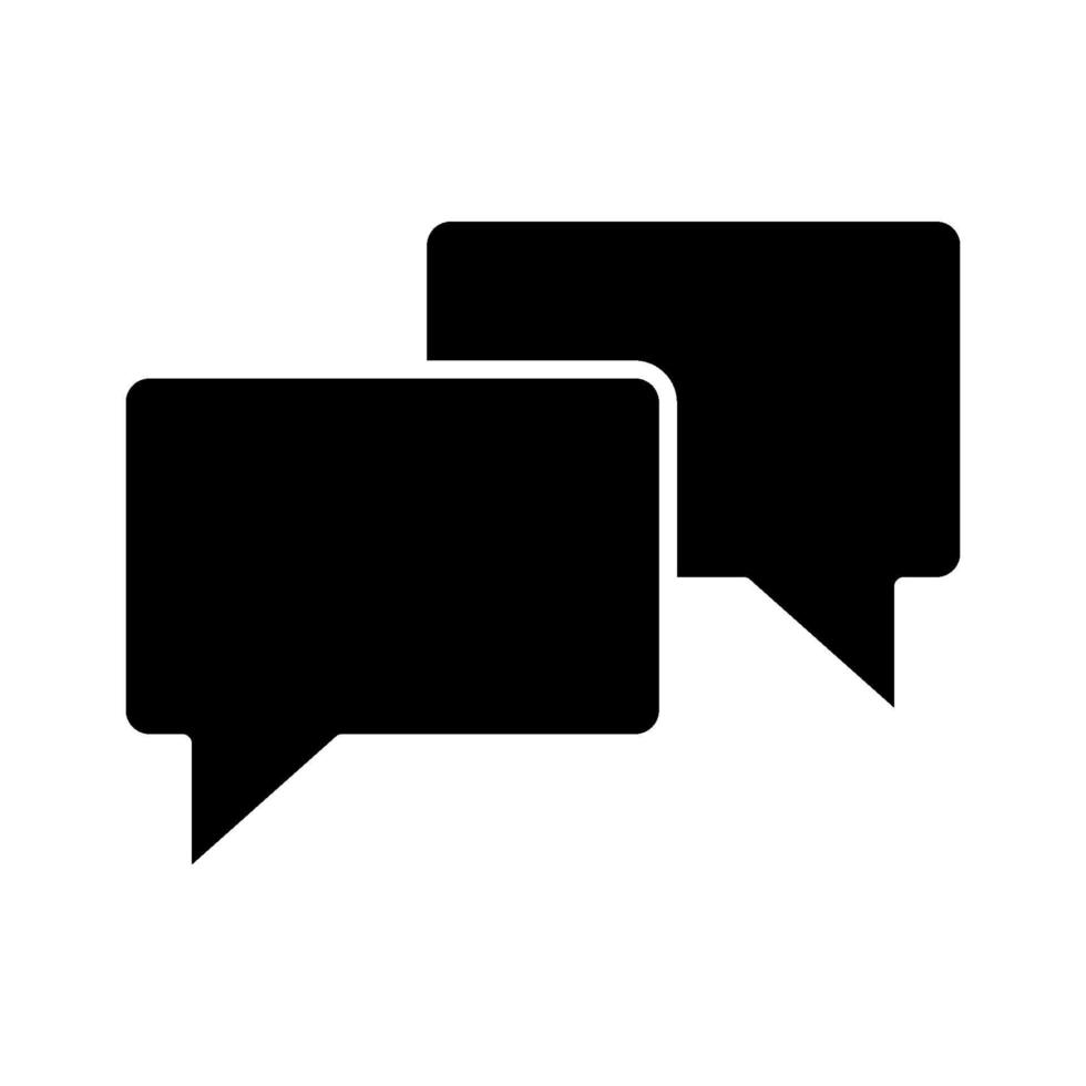 icona di vettore di chat