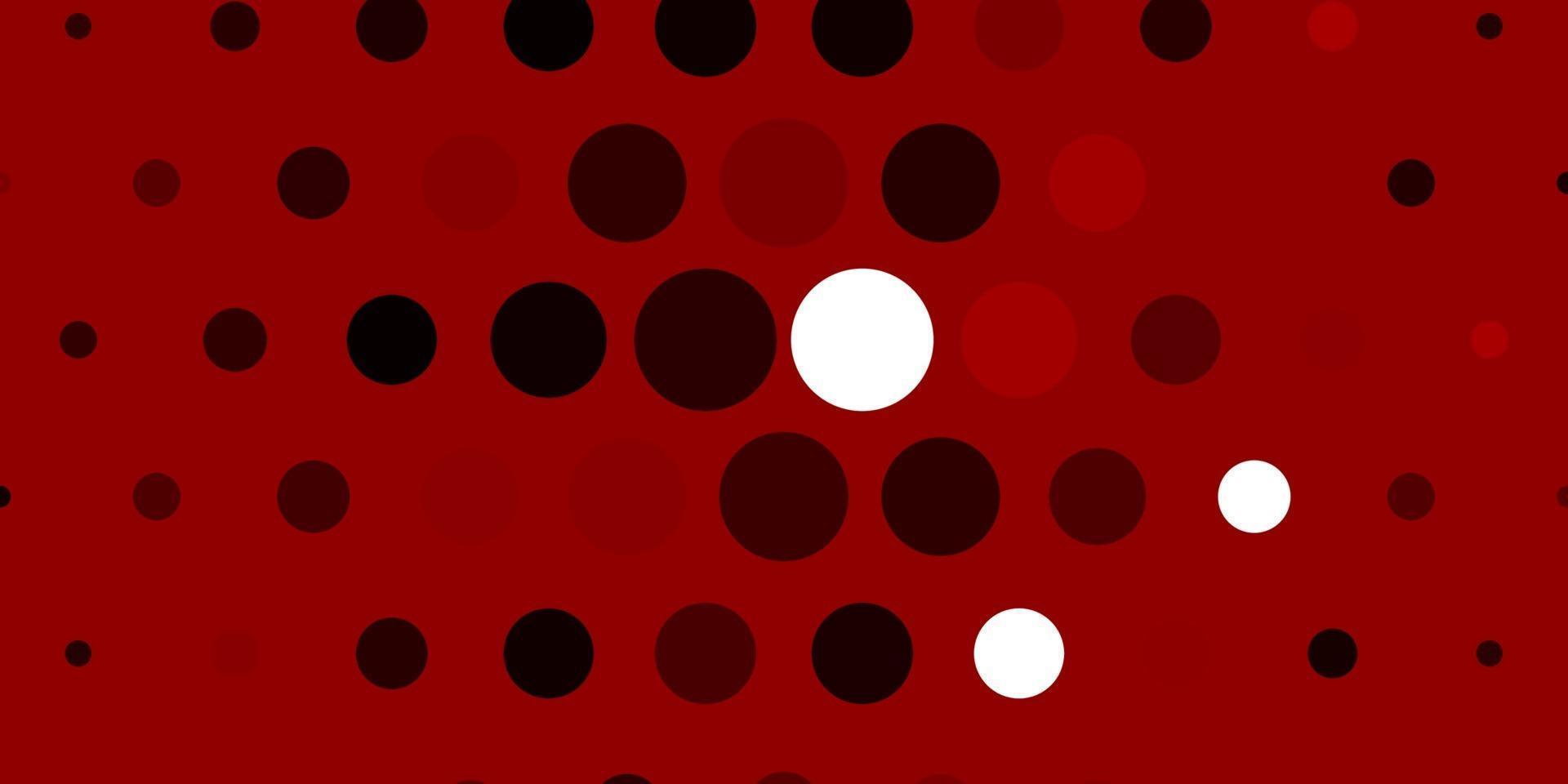 modello vettoriale rosa chiaro, rosso con cerchi.