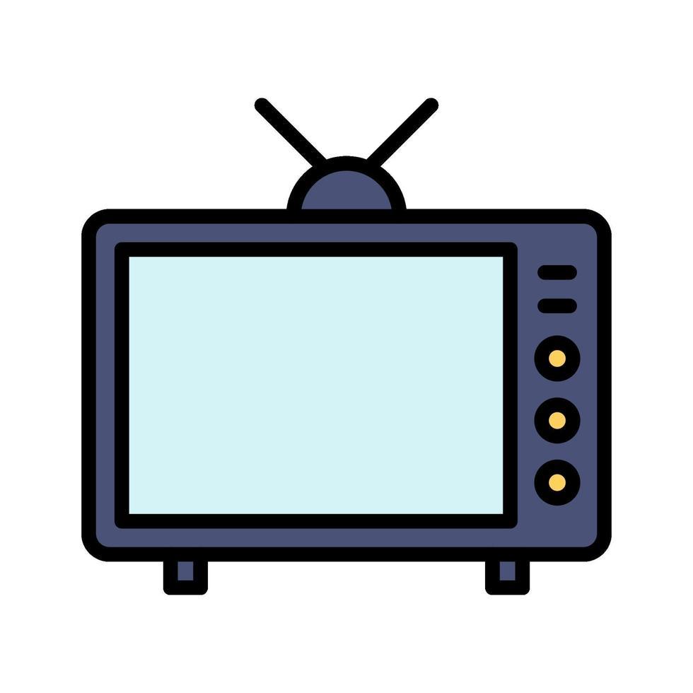 icona di vettore della televisione