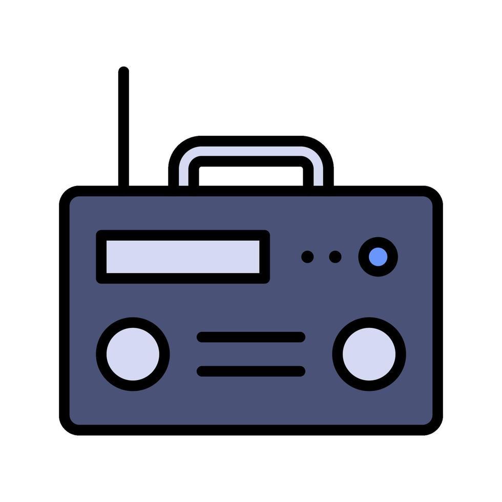 icona di vettore della radio