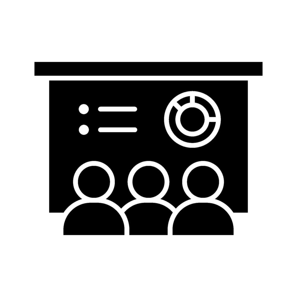 icona di vettore di formazione