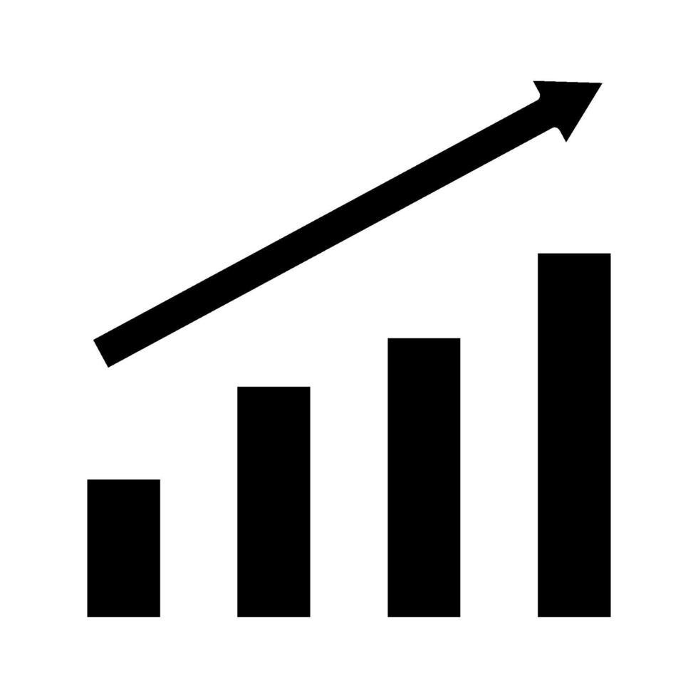 icona di vettore di crescita