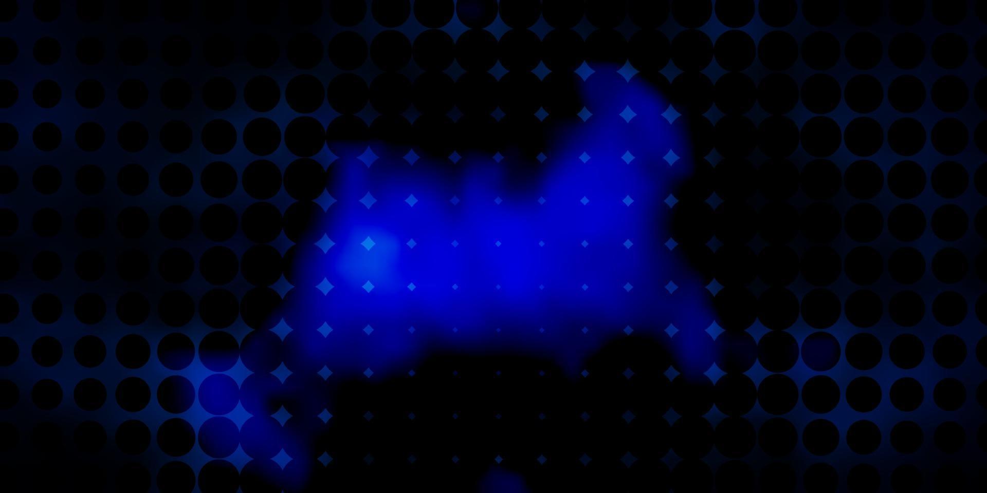 struttura vettoriale blu scuro con cerchi.