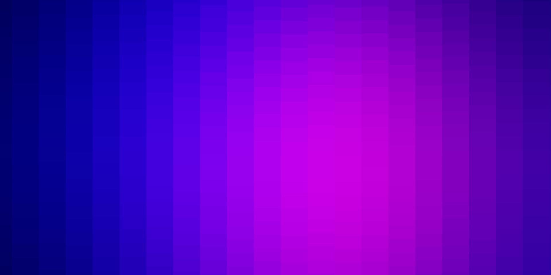 trama vettoriale rosa chiaro, blu in stile rettangolare.