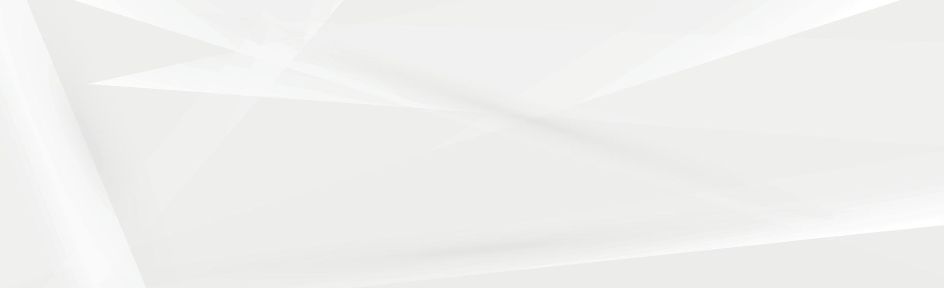 sfondo panoramico vettoriale bianco con linee ondulate