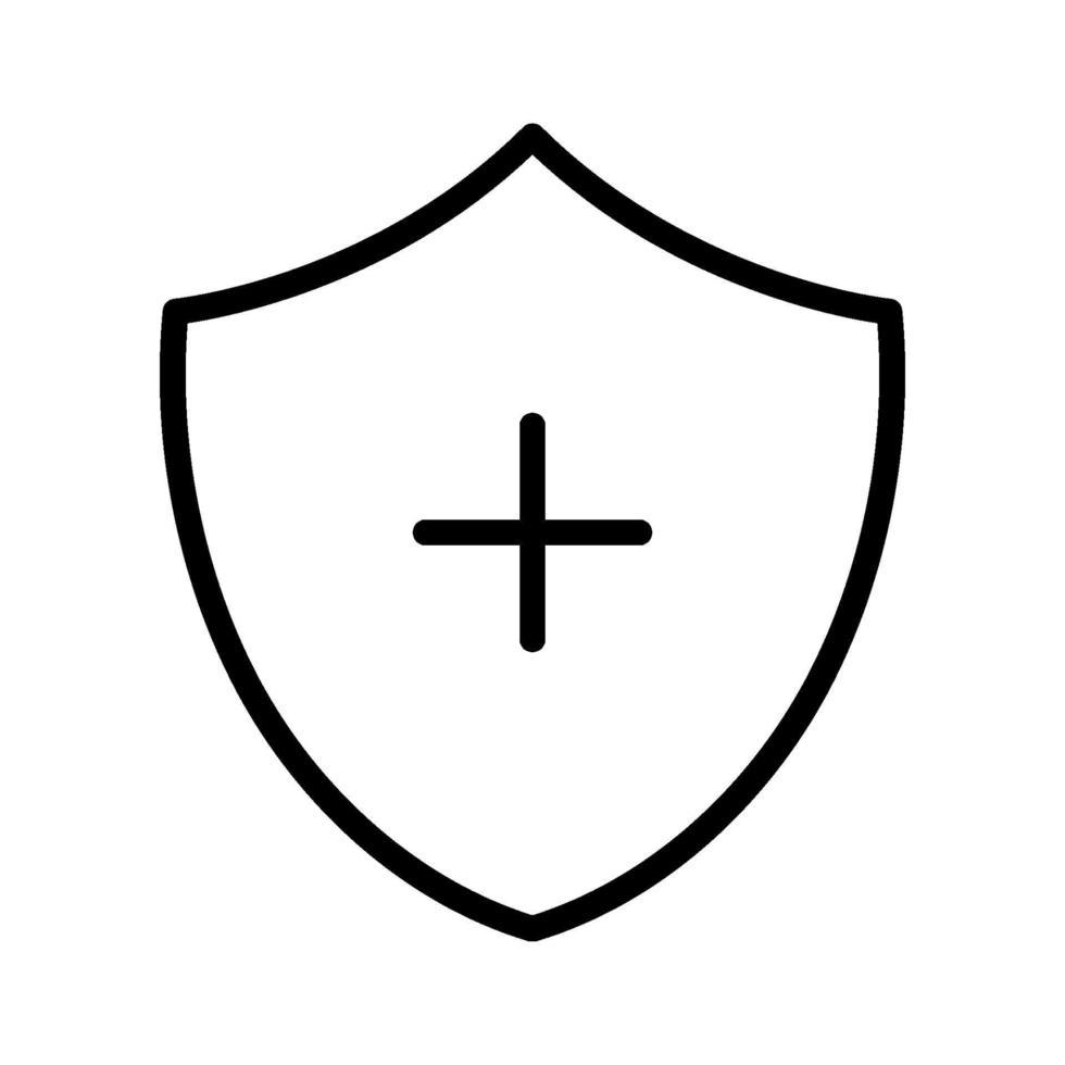 icona di vettore dello scudo