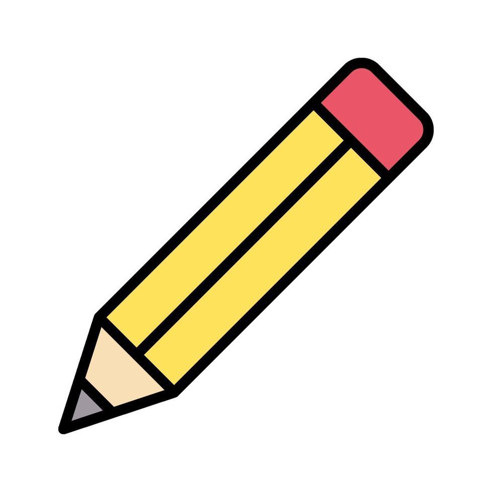 icona di vettore di matita