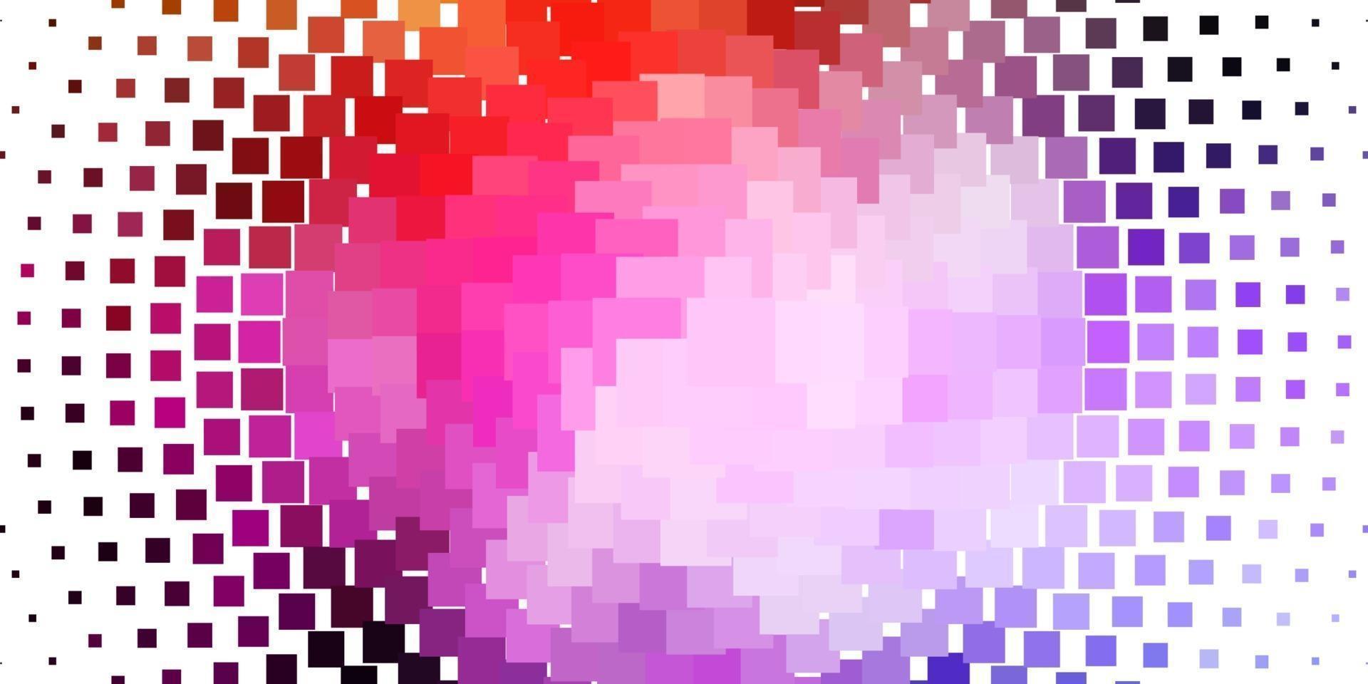sfondo vettoriale rosa chiaro, giallo con rettangoli.