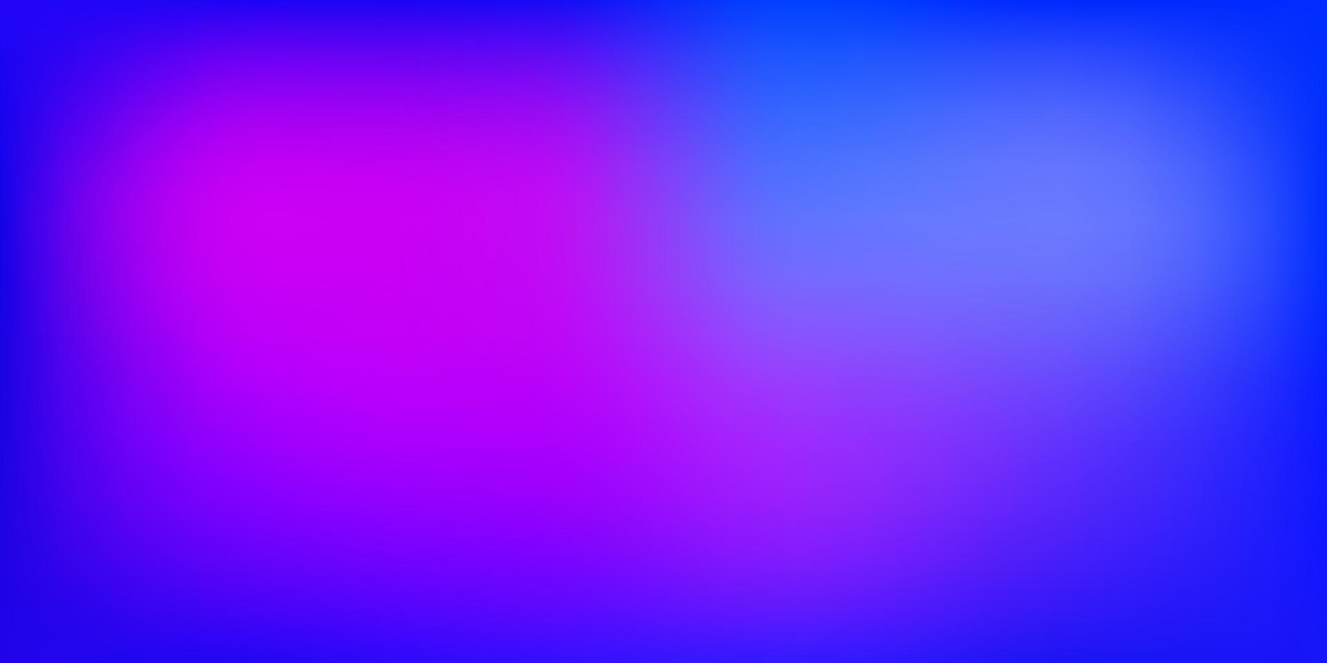 sfondo sfocatura astratta vettoriale blu chiaro, rosso.