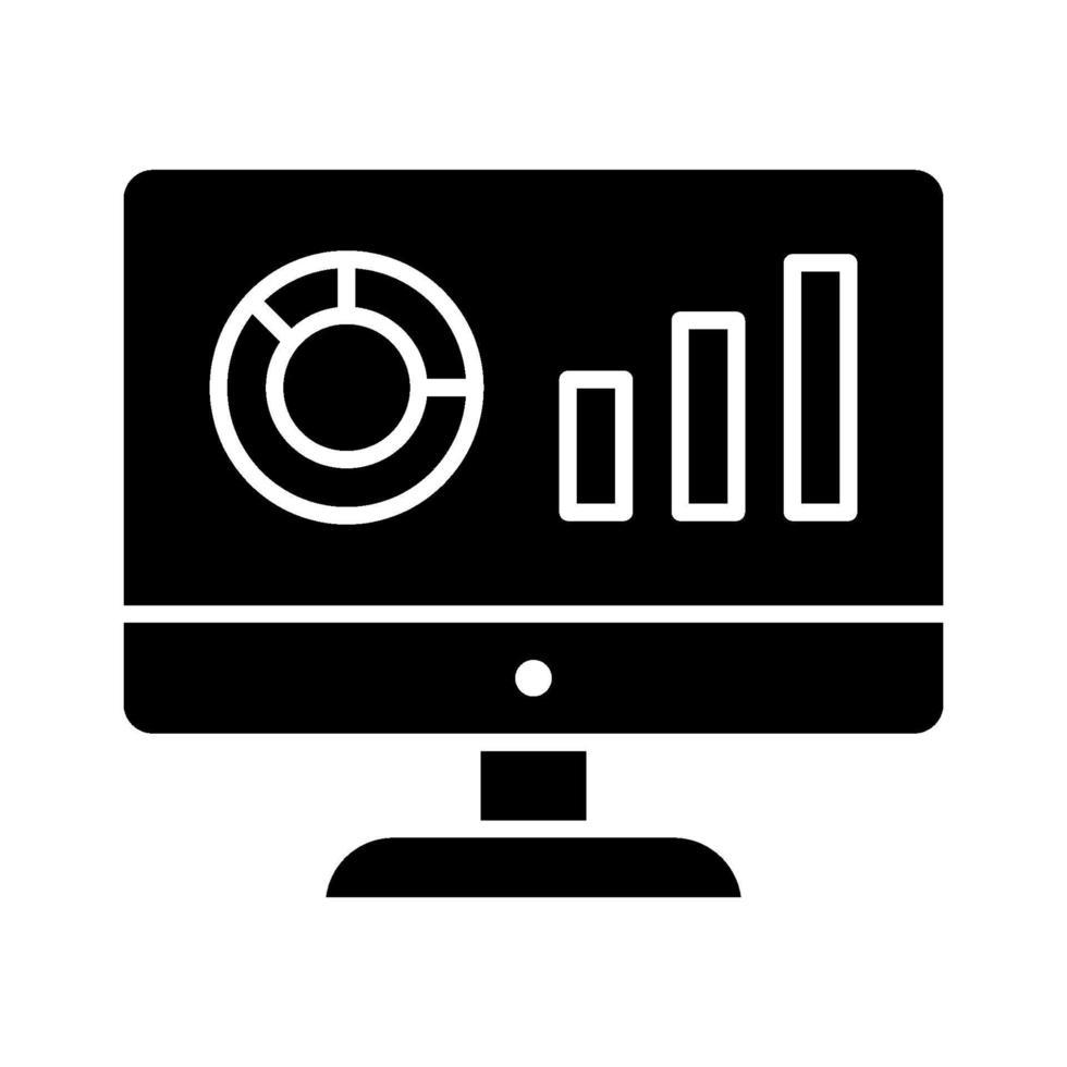 icona di vettore di analisi