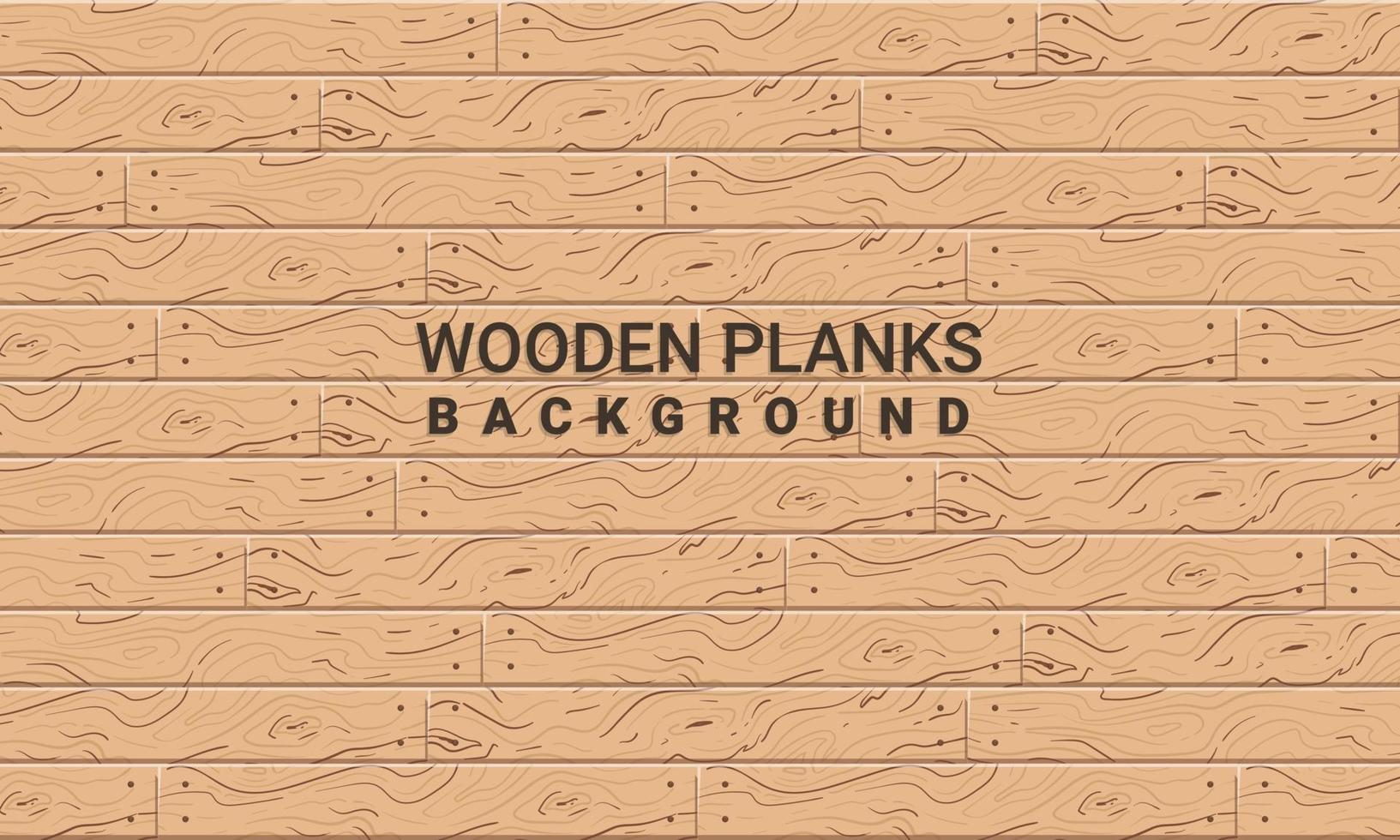 trama di assi di legno con chiodi vettore
