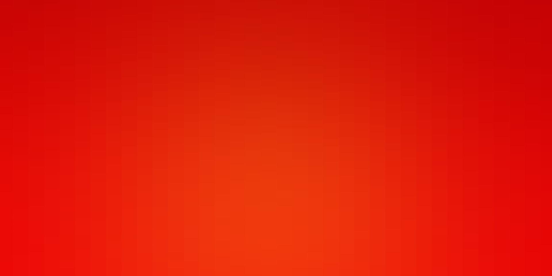 sfondo vettoriale arancione chiaro con rettangoli.