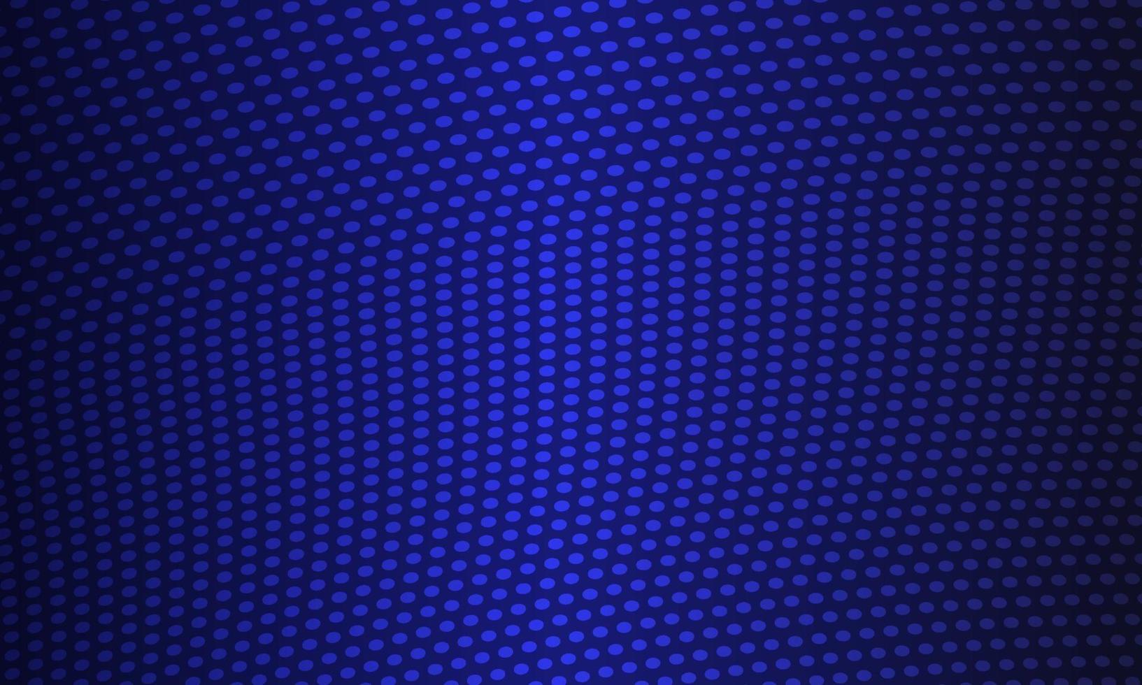 priorità bassa blu scuro astratta dei punti dell'onda vettore