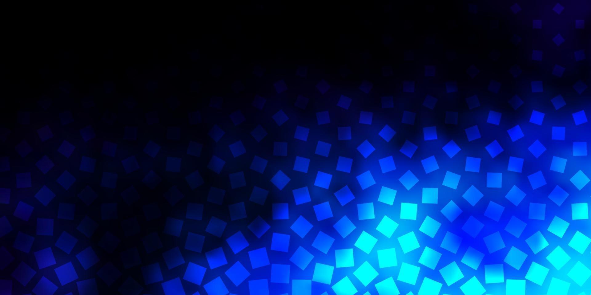 trama vettoriale blu scuro in stile rettangolare.