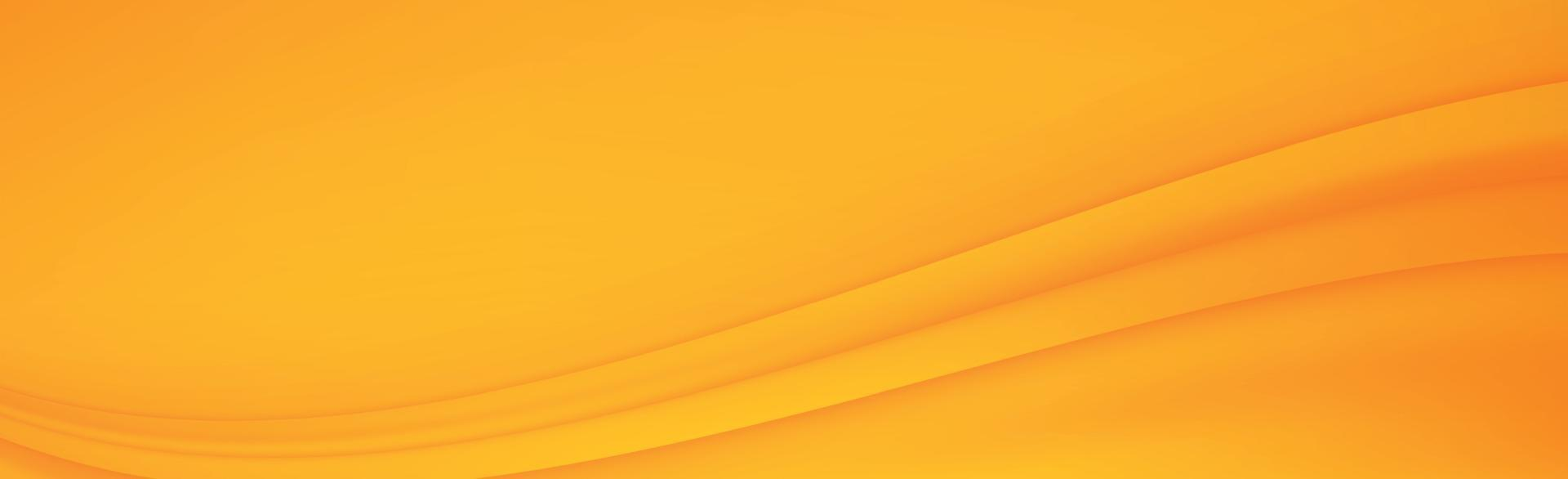astratto sfondo arancione e giallo con linee ondulate - vettore